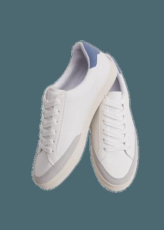 Laces basic sneakers - Women | Mango USA