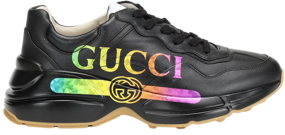 Rhyton Leather Sneakers | Gucci - mytheresa