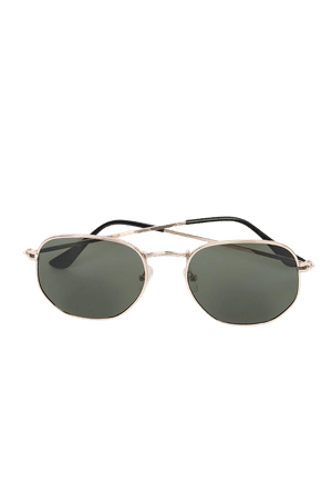 Gold Sunglasses - Round Sunglasses - Metal Sunglasses - Sunnies - Lulus