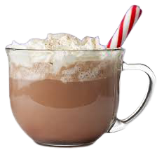 peppermint hot cocoa chocolate