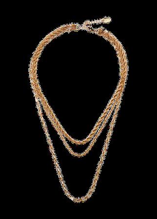 Mixed chain necklace - Women | Mango USA