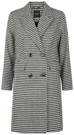 petite-black-houndstooth-double-breasted-coat.jpg (720×817)