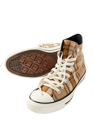 Converse Chuck Taylor All Star Plaid High Top Sneaker | Urban Outfitters