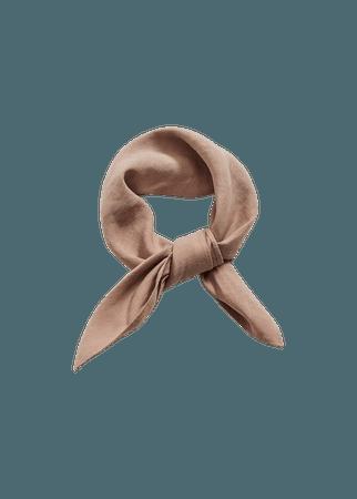 Linen scarf - Women | Mango USA