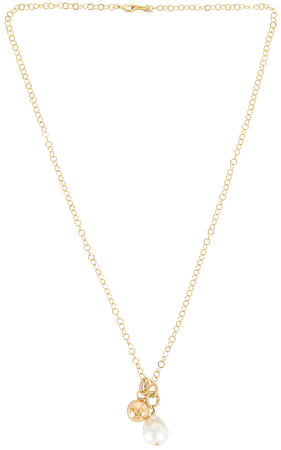 Cloverpost Brook Necklace in Yellow Gold | REVOLVE