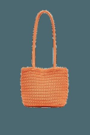Crochet mini tote bag - pull&bear