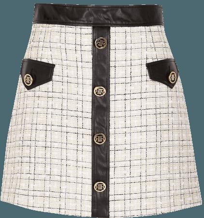 River Island Mix Miniskirt | Nordstrom