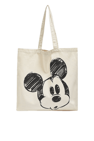 Mickey Mouse tote bag - pull&bear