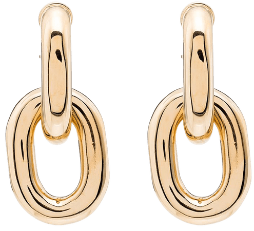Paco Rabanne Chain Link Earrings - Farfetch