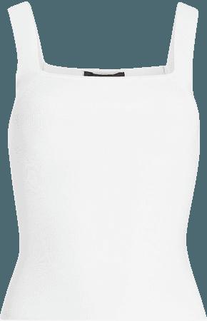 Body Contour Square Neck Cami Sweater | Express