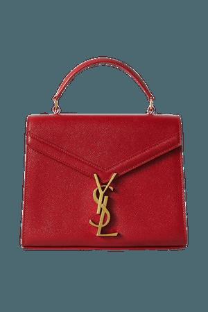 Cassandra Mini Textured-leather Tote