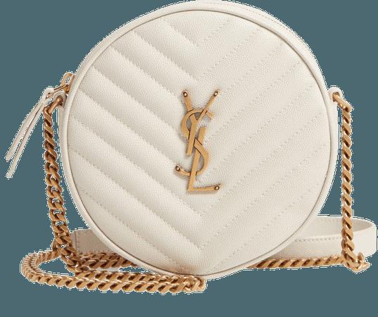 Jade Matelasse Leather Crossbody Bag