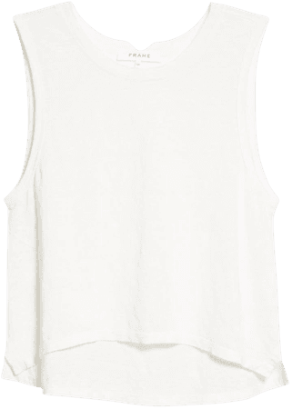FRAME Swingy Crop Muscle Tank | Nordstrom