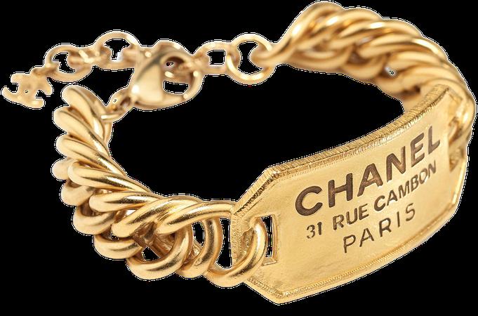 Metal Gold Bracelet | CHANEL