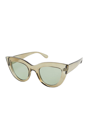 Enid Oversized Cat-Eye Sunglasses | Urban Outfitters