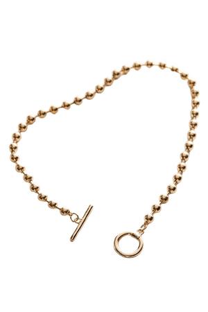Ball Chain Toggle Necklace | Urban Outfitters