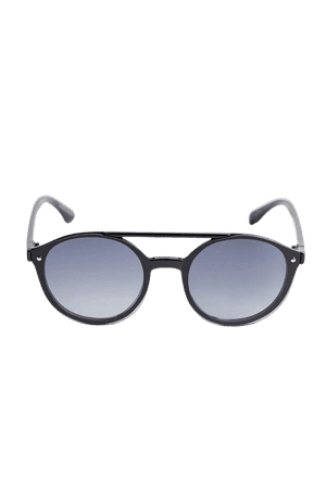 Ari Rounded Aviator Sunglasses | Urban Outfitters
