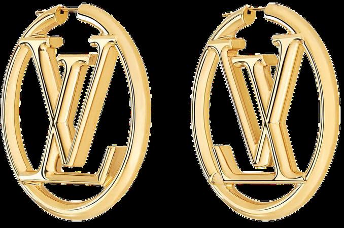 Louise Hoop Earrings - Accessories   LOUIS VUITTON ®