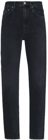 Shop Totême mid-rise straight-leg jeans with Express Delivery - Farfetch