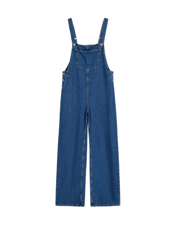Denim overalls - Dresses - Woman | Bershka