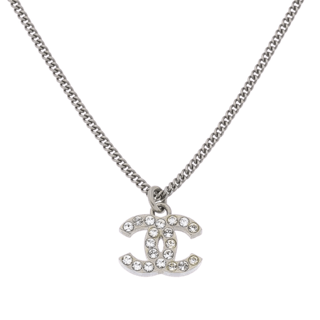 Résultats Google Recherche d'images correspondant à https://img.lxrco.com/1817MQ334/1923592-chanel-cc-logo-rhinestone-pendant-necklace-425cm-silver-tone-crystal-and-metal-colliers-1hvqvljm97.medium.jpg