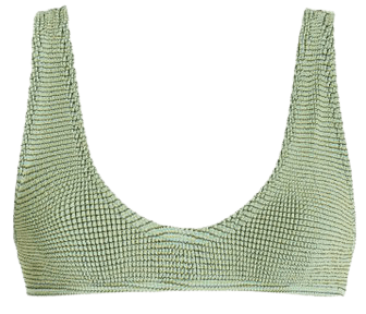 Scout Crinkled Bikini Top By Bond-Eye   Moda Operandi