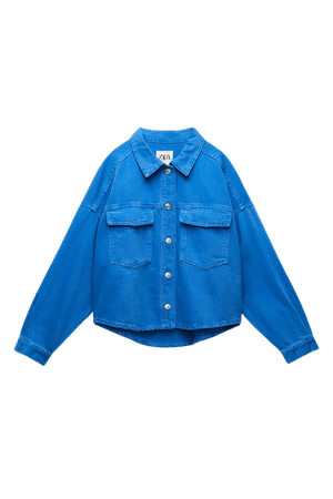 SOLID COLOR OVERSHIRT   ZARA United States