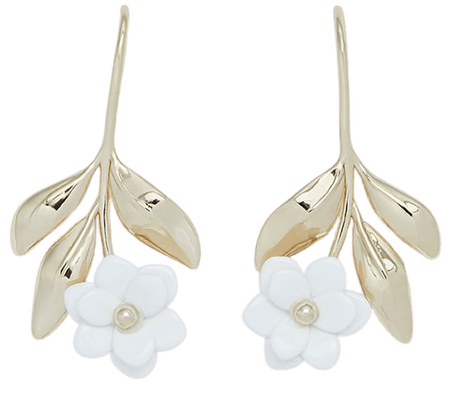 Magnolia Drop Earrings – Draper James
