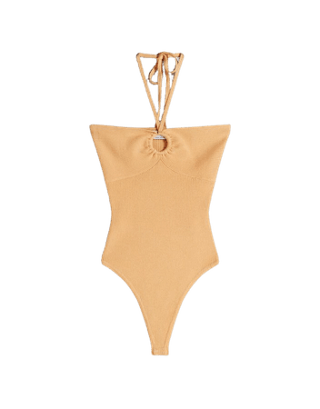 Bodysuit with ring - Tees and tops - Woman | Bershka