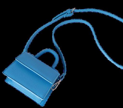 Micro Top Handle Bag Blau | na-kd.com