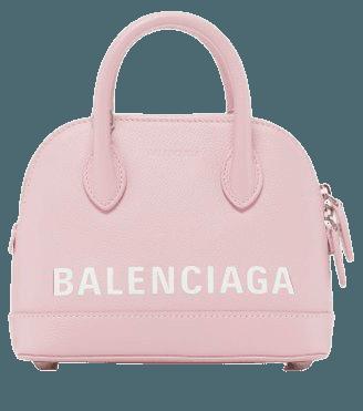 Ville Top-Handle Logo Bag By Balenciaga   Moda Operandi