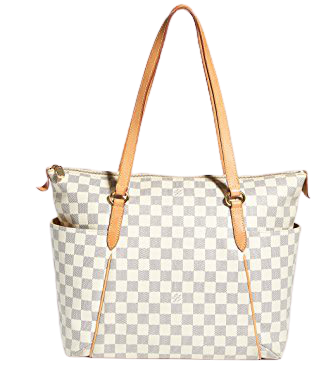 What Goes Around Comes Around Louis Vuitton Damier Azur Totally MM Tote   SHOPBOP