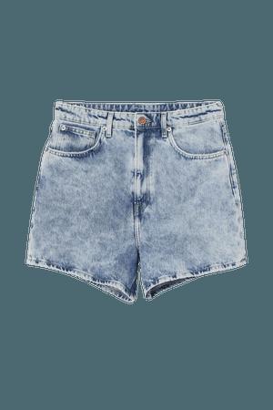 Denim Shorts - Light denim blue - Ladies | H&M US