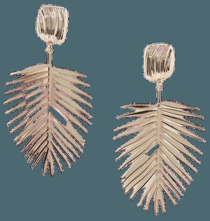 **Palm Leaf Drop Earrings | Topshop