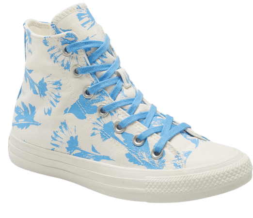 Chuck Taylor® All Star® Hi Egret Sneaker | Nordstrom