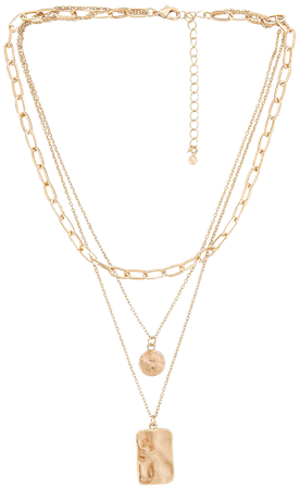 8 Other Reasons Laid Back Lariat Necklace in Gold | REVOLVE