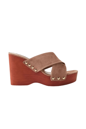 Steve Madden Emiko Wedge Sandal | Urban Outfitters