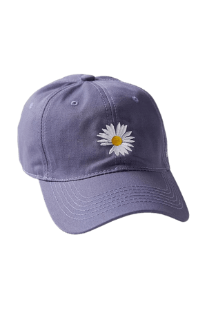 UO Daisy Baseball Hat | Urban Outfitters
