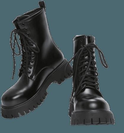 Frenzy Military Boots | Koi
