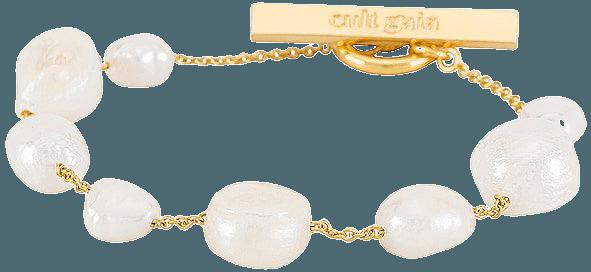 Cult Gaia Perla Bracelet in Pearl   REVOLVE