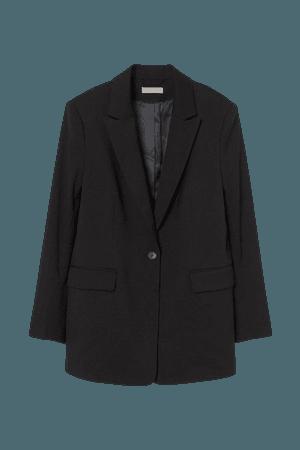Single-breasted Blazer - Black - Ladies | H&M US