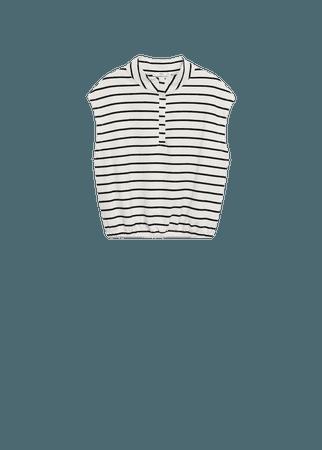 Oversize cotton sweatshirt - Women   Mango USA