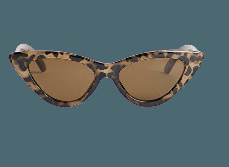 Cat eye sunglasses - Speckled turtle - Sunglasses - Monki WW