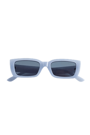 Rachel Plastic Rectangle Sunglasses | Urban Outfitters