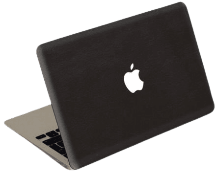 black apple laptop computer png filler
