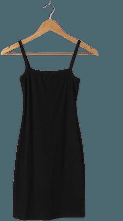 Black Bodycon Dress - Ribbed Mini Dress - Sleeveless Mini Dress - Lulus