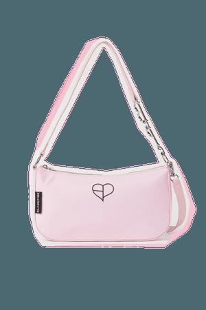 Small Shoulder Bag - Light pink/Blackpink - Ladies | H&M US