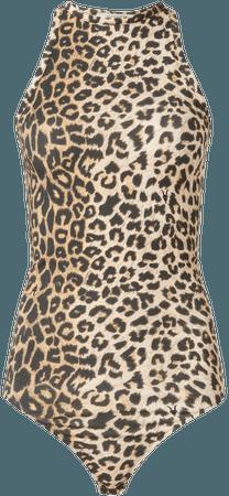 ALLSAINTS US: Womens Jamie Leppo Bodysuit (leopard_yellow)