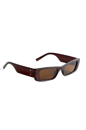 Tempe Slim Rectangle Sunglasses | Urban Outfitters