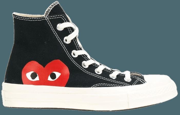 COMME DES GARÇONS PLAY X CONVERSE x Comme Des Garçons Chuck 70 Hi Sneakers - Farfetch